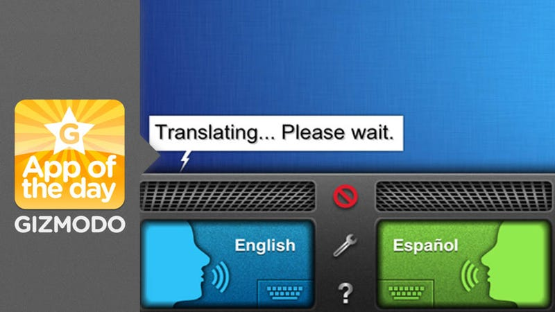 SayHi Translate: An Interpreter Inside Your iPhone