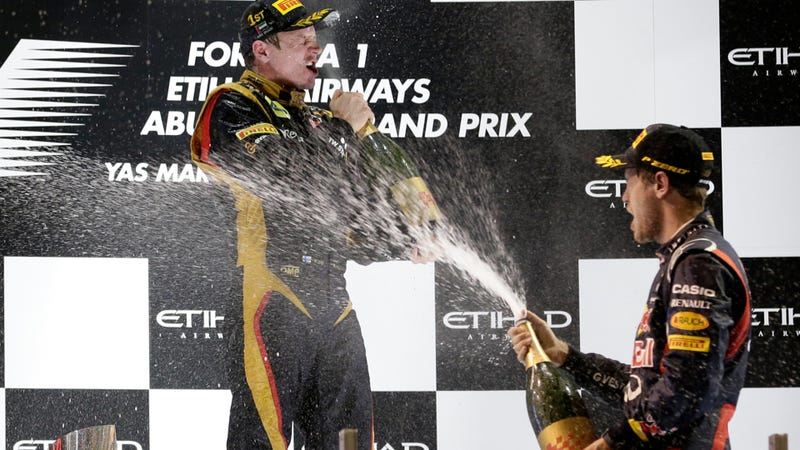 If You Win A Race In A Strict Arab Country You Get This Instead Of Champagne