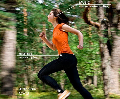 Dancepants MP3 Player Makes You Run for Your Music