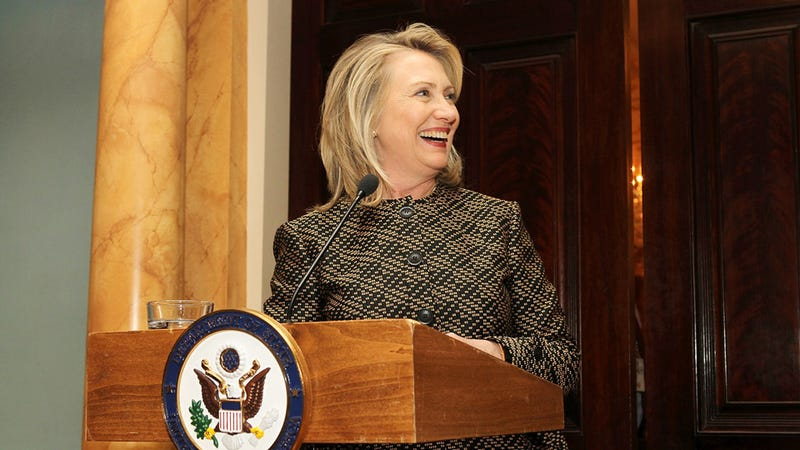 Hillary Clinton Is So Powerful She Has to Laugh