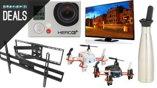 "Make Your Own Soda, Cheap K-Cups, 60"" Plasma, Tiny Drones [Deals]"