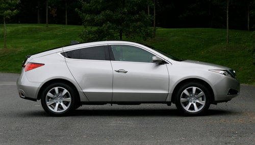 2010 Acura ZDX: First Drive Photos
