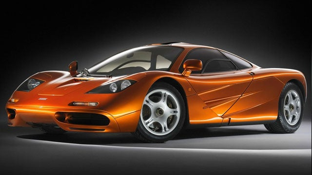 McLaren P1 Vs. F1: The Front Quarter View