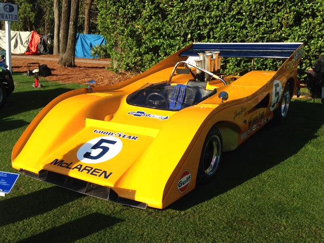 Pick Your Favorite McLaren at Today's Amelia Island Concours d'Elegance