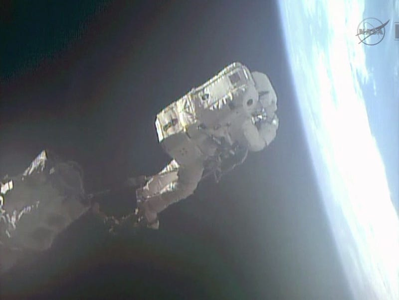 Watch today's spacewalk, live on io9!