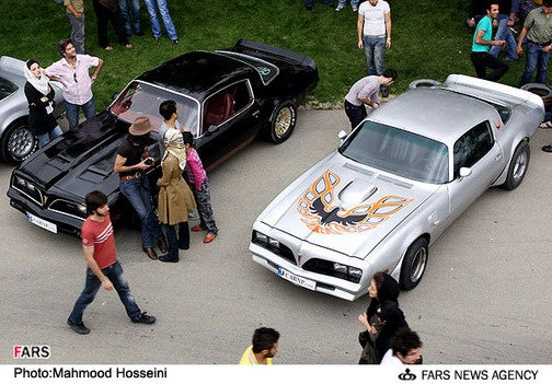 Tehran's Got Mad Love For The Screamin' Chicken