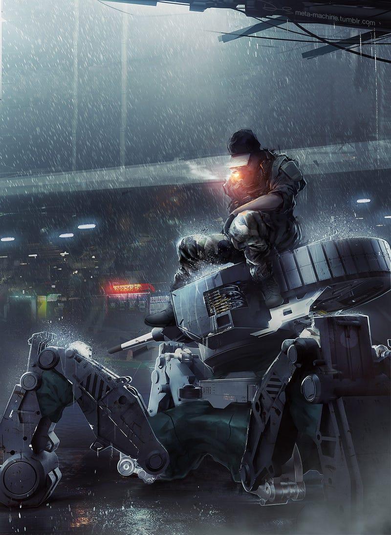 Future Cigarettes Are Immune To Rain, Killer Robots