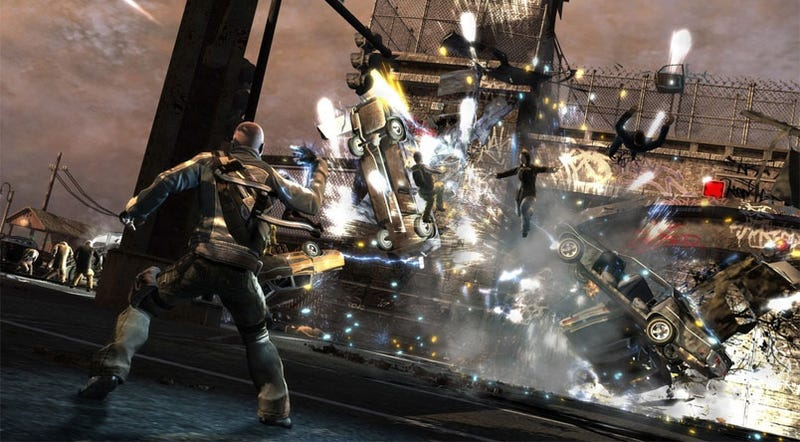 inFamous Charges Onto PlayStation 3s Worldwide In June