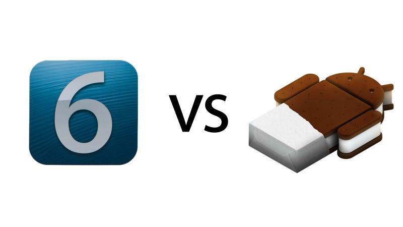 iOS 6 vs. Ice Cream Sandwich: The Ultimate Comparison