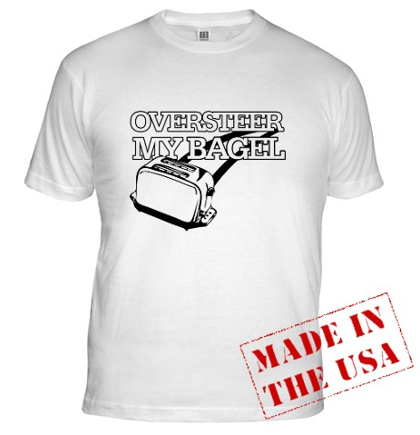 Oversteer My Bagel: Buy Some Jalopnik On A T-Shirt!