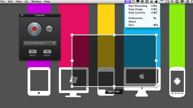 Screeny Is a Great, Free Screencasting and Screenshot Tool for the Mac