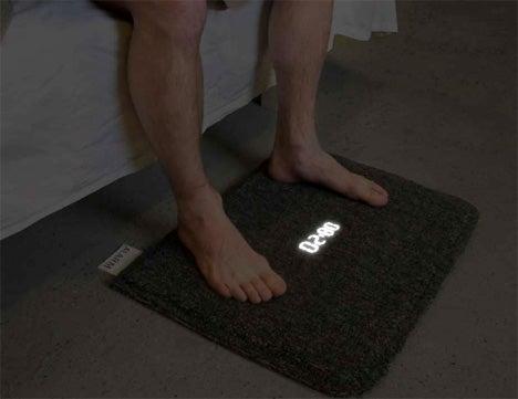 Carpet Alarm Clock