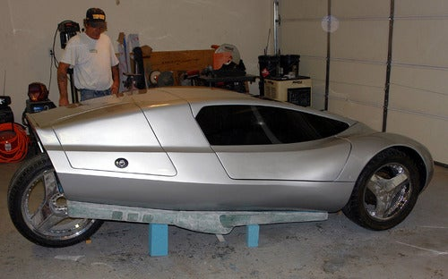 XR-3 Diesel-Electric Hybrid Kit Car Now a Reality, Build Your Own!