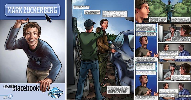 Mark Zuckerberg Is Now a Comic Book Hero
