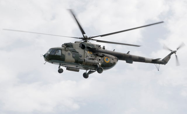 Ukrainian Helicopter Shot Down a Day After Ceasefire, Nine Dead