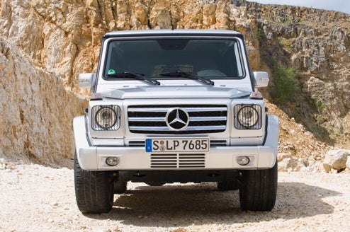 2009 Mercedes G55 AMG, For When Restraint Is Just Buying One