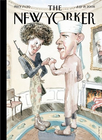 The New Yorker's 'Tasteless' Obama Cover