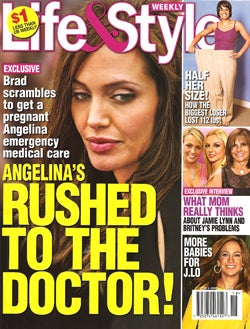 This Week In Tabloids: Tom & Katie's Issues, Angelina's Doctor Drama, Shiloh's Cute Face