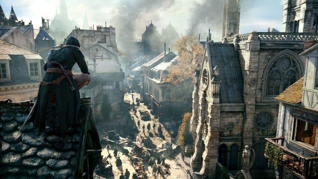 Your PC Must Be Trés Magnifique For Assassin's Creed Unity