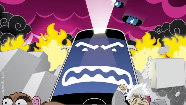 Palm, Sidekick and Motorola Get Their Asses Kicked by iPhone