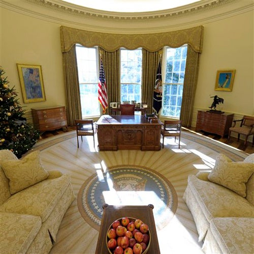 Decorating The Oval Office: Obama Swaps Texas Theme For MLK Items