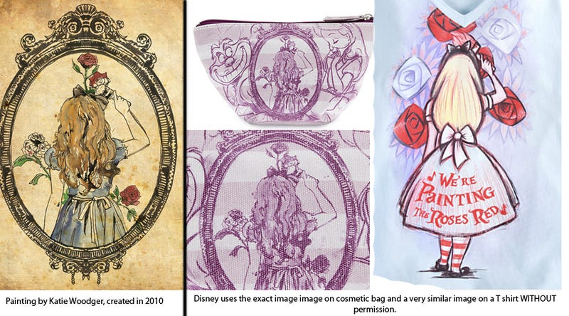 Did Disney steal this Alice in Wonderland image?