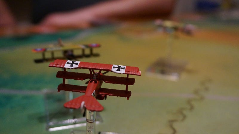 Last Week, I Killed the Red Baron In my Living Room