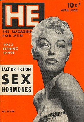 UFOs? Burlesque Queen Lili St. Cyr Says Yes, 1957