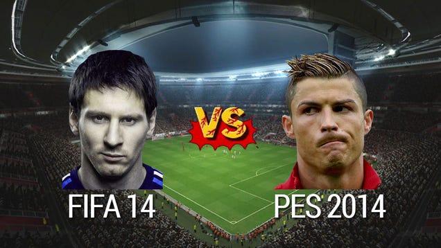 FIFA 14 vs Pro Evo 2014: ¿Qué partido de fútbol debe llegar?
