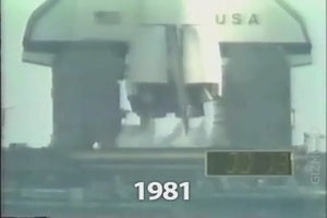 Watch 30 Years of the Space Shuttle In One Single Launch