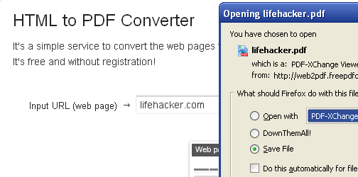 HTML to PDF Converter Turns Web Sites into PDF Files