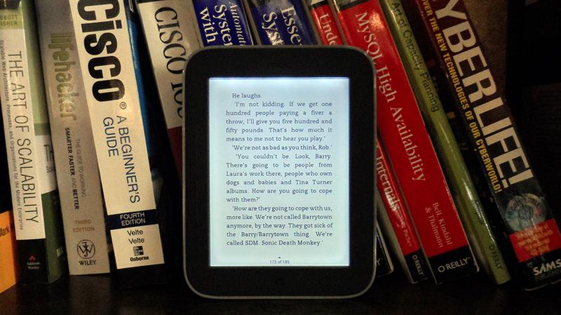 Why Do We Keep Making Ebooks Like Paper Books?