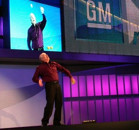 Detroit Auto Show: GM>>Next Press Event