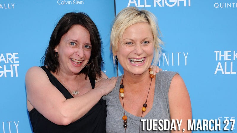 Amy Poehler and Rachel Dratch Dream of a Sluttier Downton Abbey