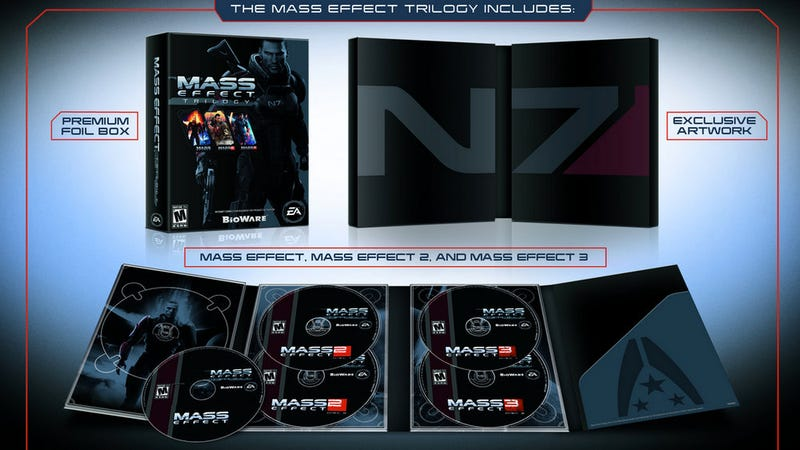There Will Be No FemShep Edition of the Mass Effect Trilogy [UPDATE]