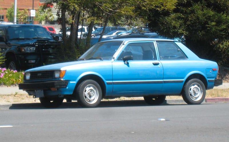 1981 Toyota Corolla Tercel Coupe