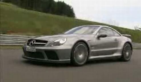 New Mercedes SL65 AMG Black Series Dances Around Track On Video