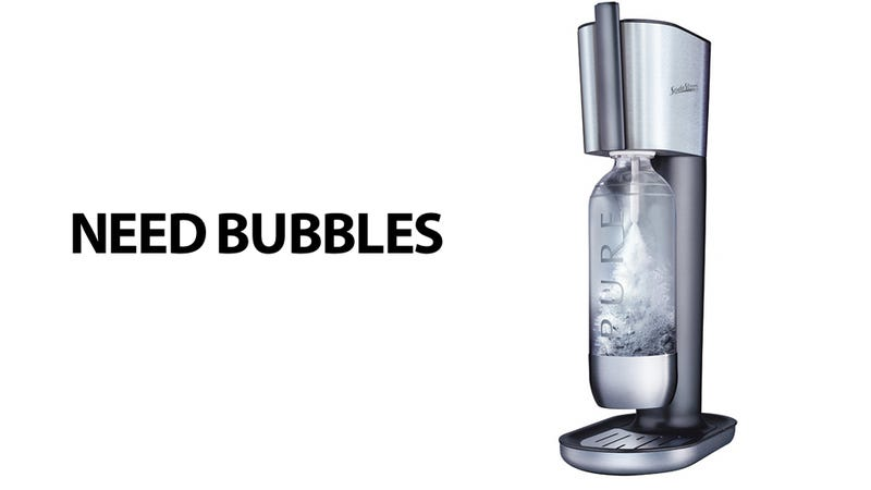 The Cheap, Unlimited Source Of the Fizzy Water You Can't Live Without