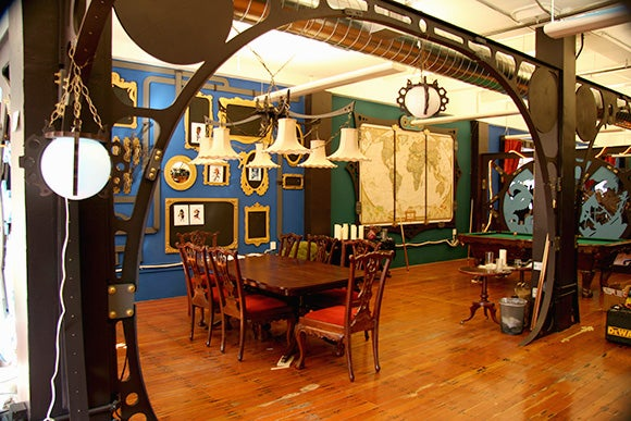 The Steampunk Office