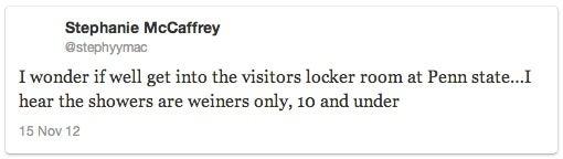 Boston College Suspends Women's Soccer Player For Tweeting Penn State Sandusky Jokes