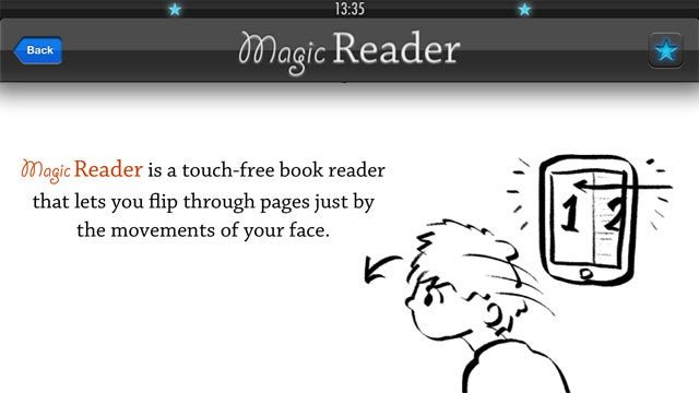 MagicReader Flips Through PDF Pages with the Nod of Your Head, No Hands Required