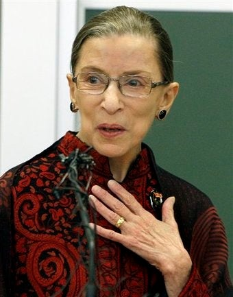 Justice Ginsburg Hospitalized After Falling Ill At Work