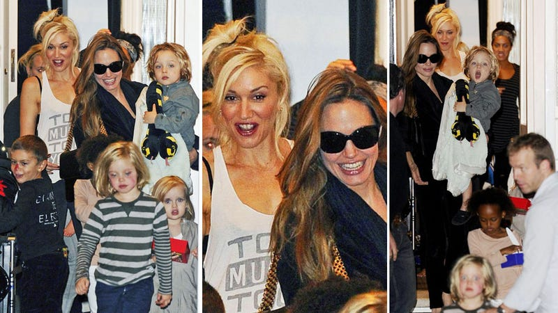 Play Date of the Century: Angelina Jolie and Gwen Stefani