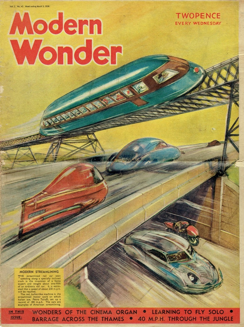This 1938 Magazine Cover Showed Britain a Shinier, Happier Future