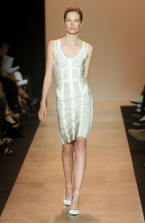 Herve Leger's Dresses Will Crush Your Ribs, Beautifully.
