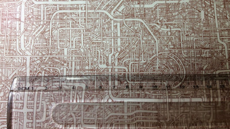 Preposterously Intricate Maze Took Seven Years of This Janitor's Life