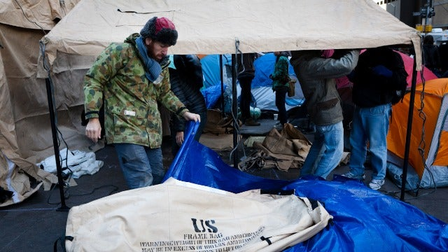 Reporter Survives Near-Death Experience: A Night at Occupy Wall Street