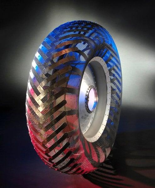Goodyear Unveils Lunar Tire Concept