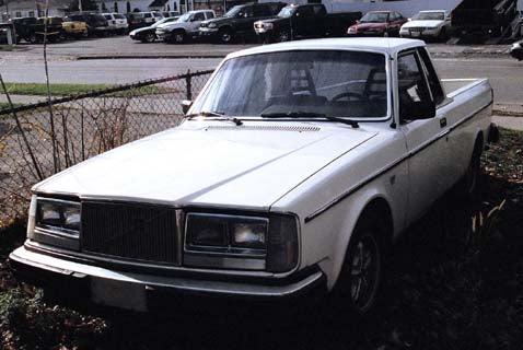 Volvo 240chero!