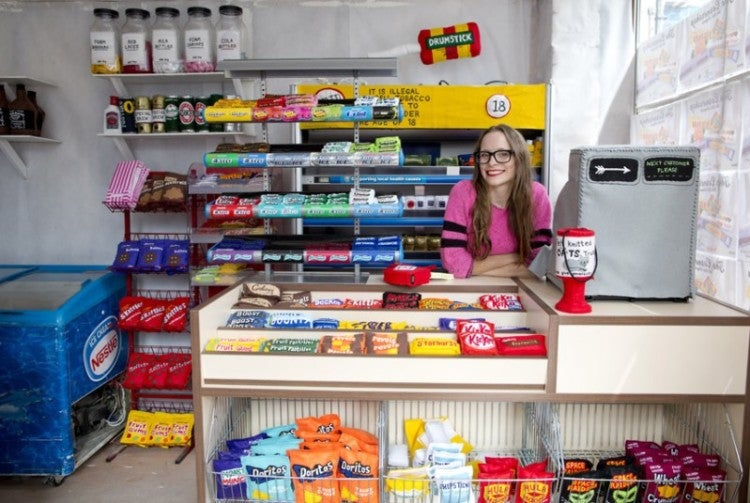 This convenience store must be the cutest shop ever created